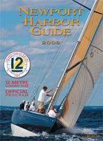 Newport Harbor Guide 2009 cover